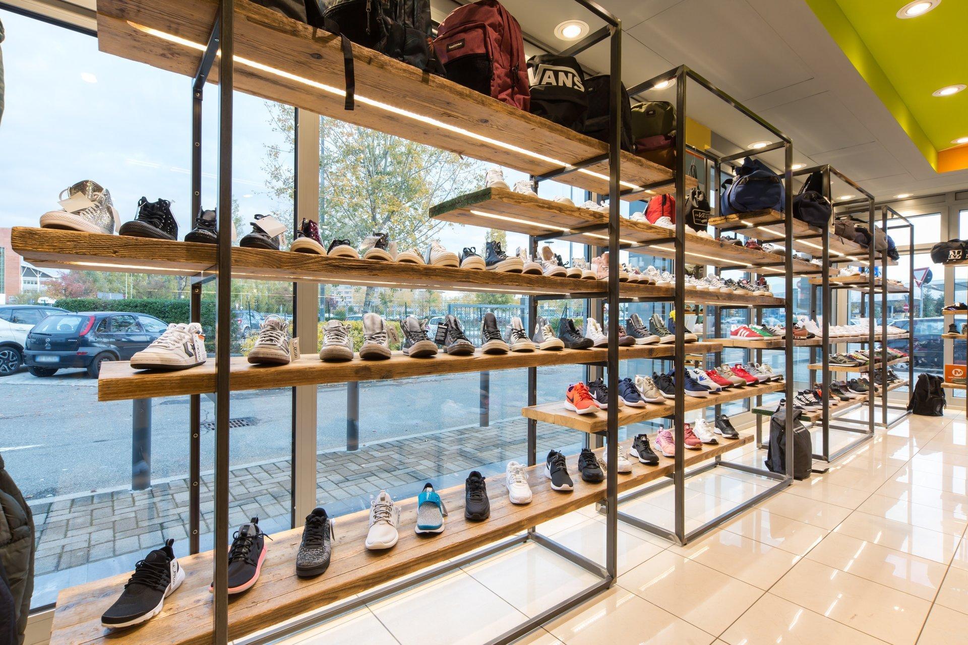 reparto scarpe