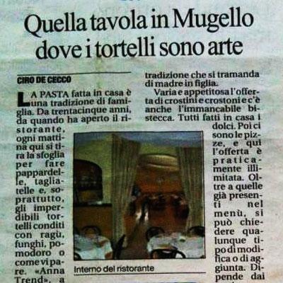 Articolo La Repubblica