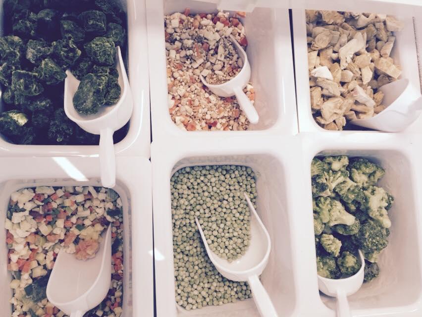 Verdure assortite presso Mister Frozen a Reggio Emilia