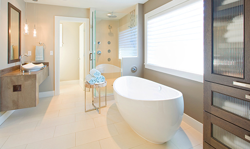 Bathroom beautifully remodeled in Hilo, HI