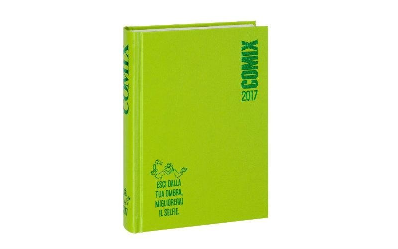 Agenda Comix verde acido