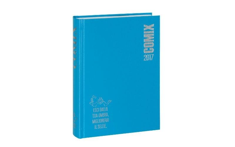 Agenda Comix azzurra