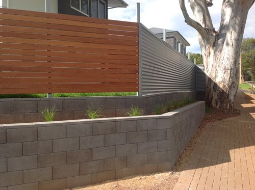 Landscaping design professionals adelaide north east for Retaining wall contractors adelaide