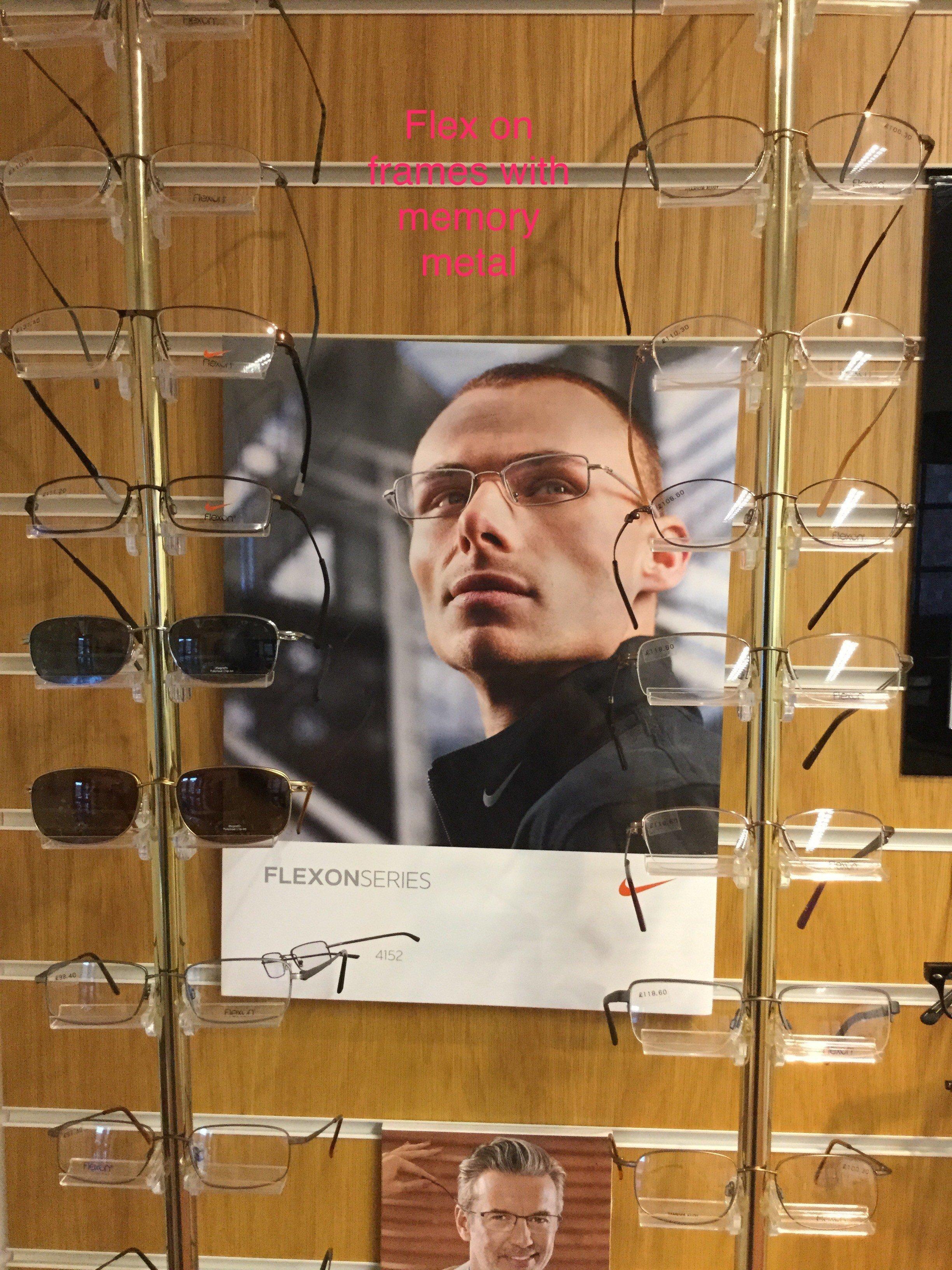 Frames from Flexon