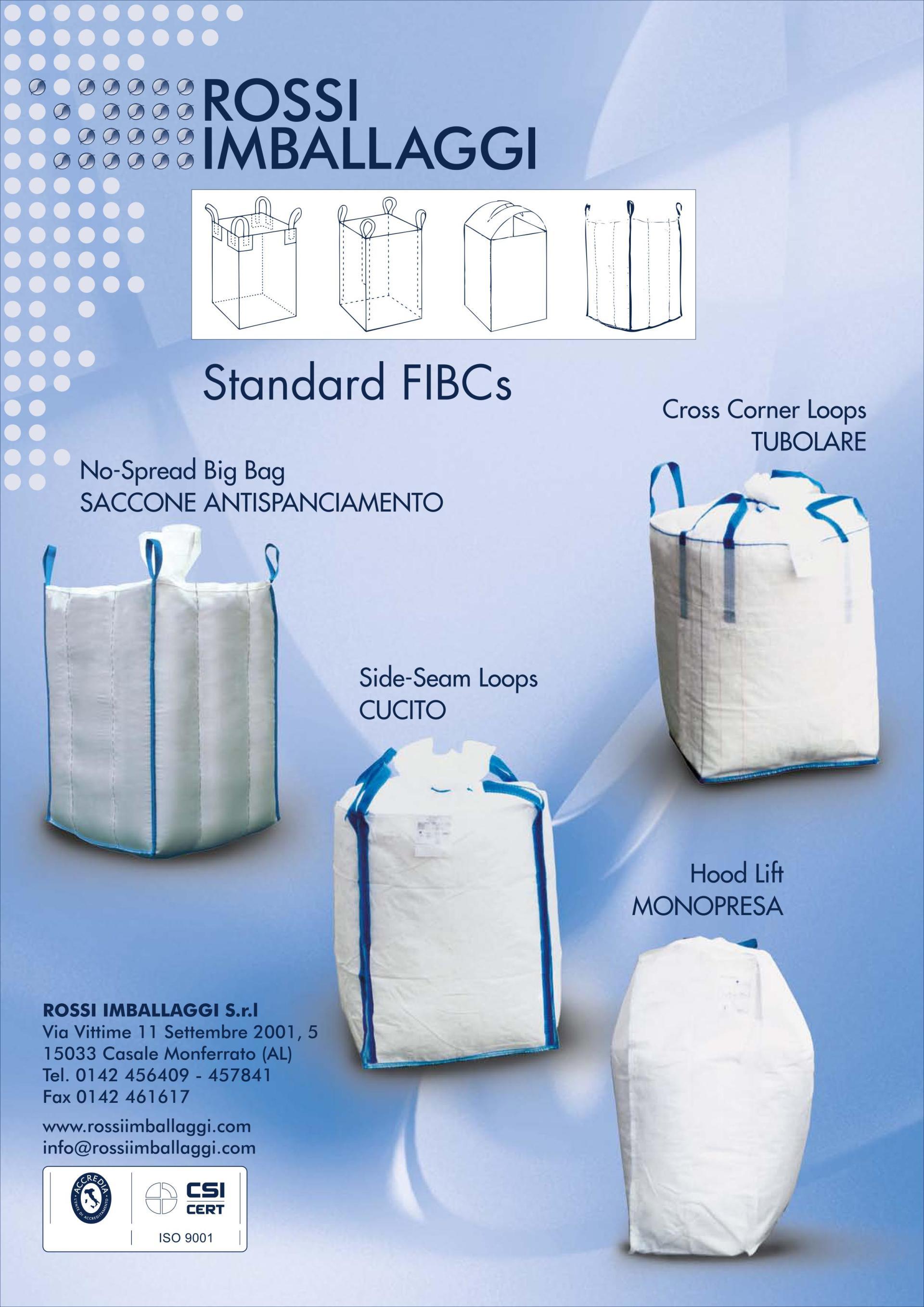 sacchi filtranti