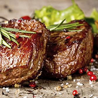 tagliata di carne con rosmarino