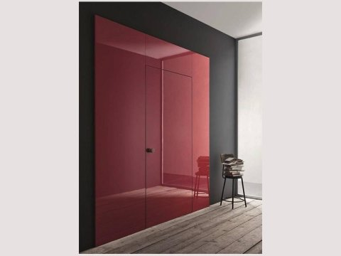 Lualda door with shutter door
