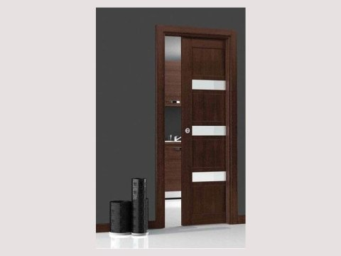 Eubea sliding door