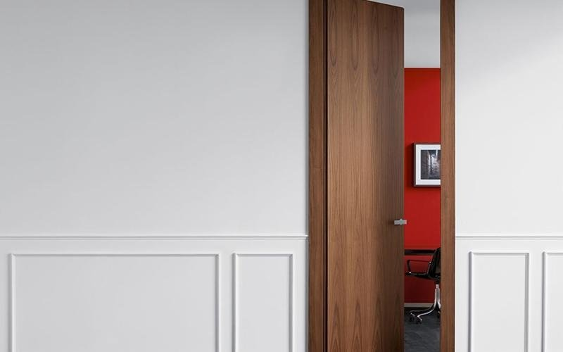 Interior doors by Lualdi