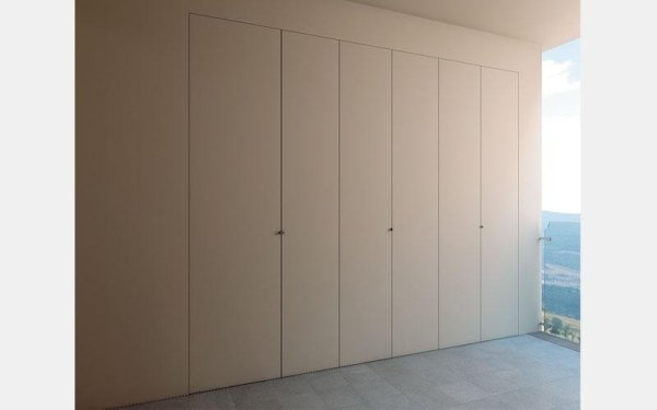 closed interior spaces with storage