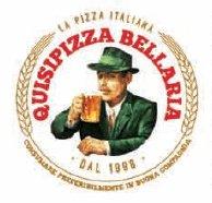 pubblicita della birra moretti con insegna QUISIPIZZA