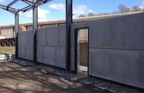 Building wall panels
