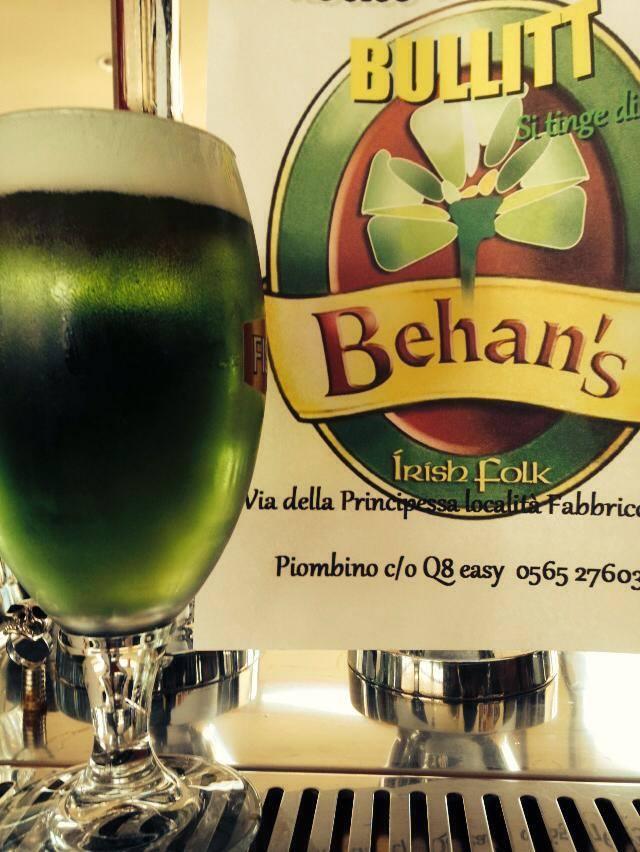birra verde irlandese