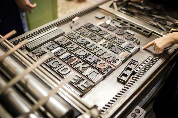 stampante a lettere