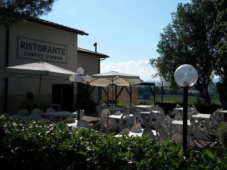 ristorante vista esterna