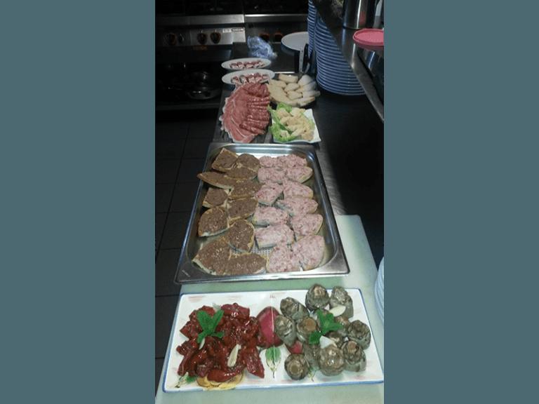 antipasti e verdure