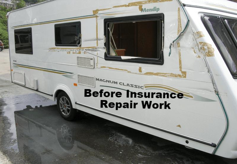 before insurance work