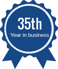 35 years of business