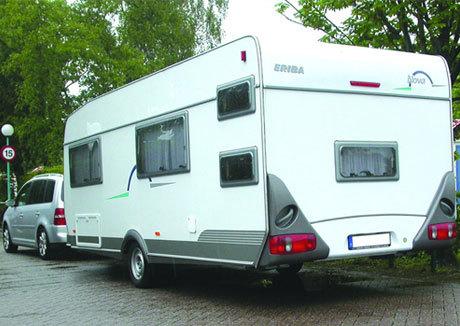 caravan customised