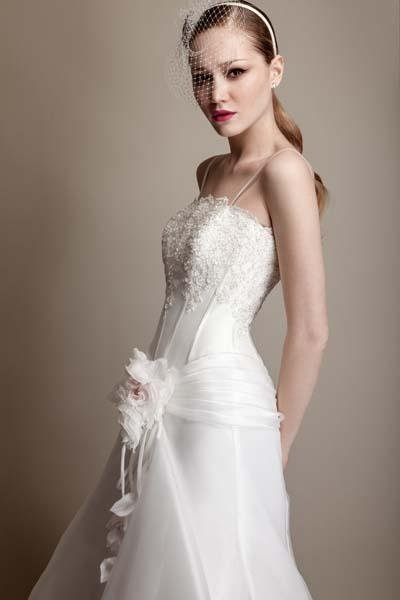 abito sposa linerare