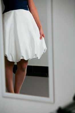 Vestito sposa anni sessanta particolare