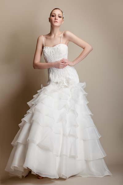 abito matrimonio elegante
