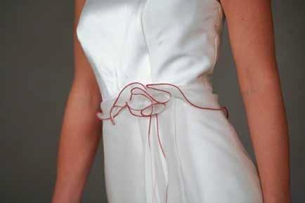 decorazione vestito da sposa