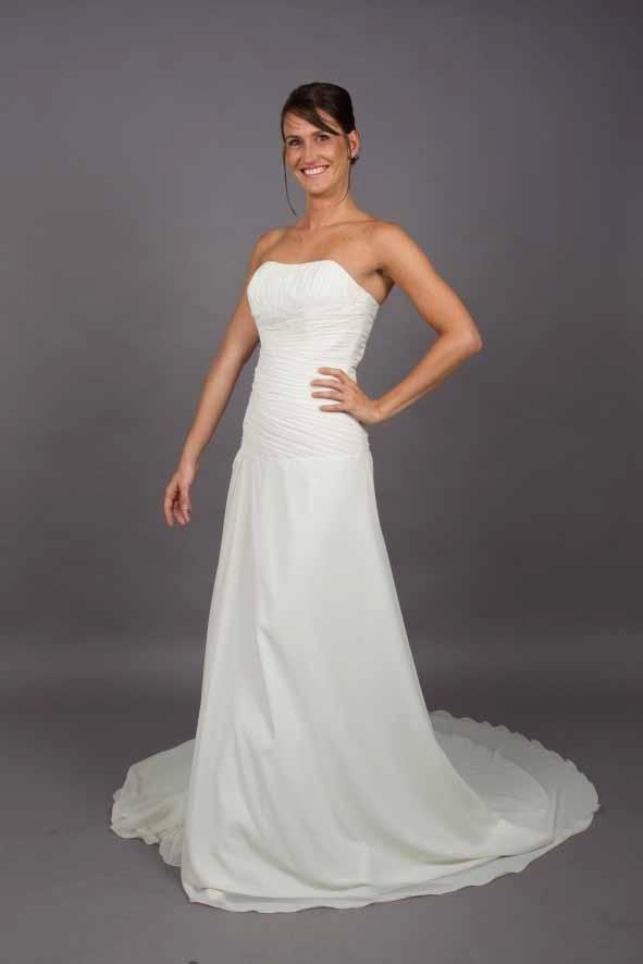 abito sposa liscio