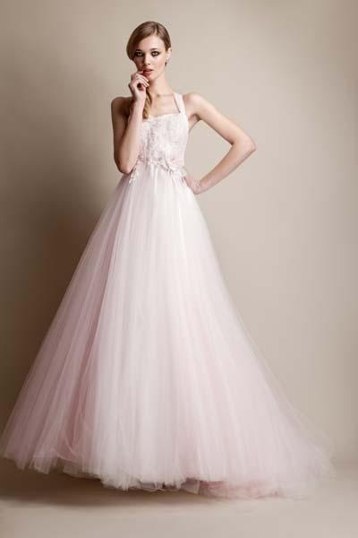abito sposa rosa