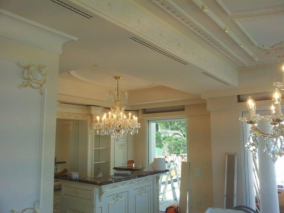 soffitto di una casa ristrutturato