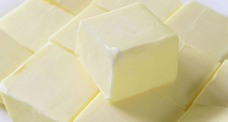 dei cubi di burro