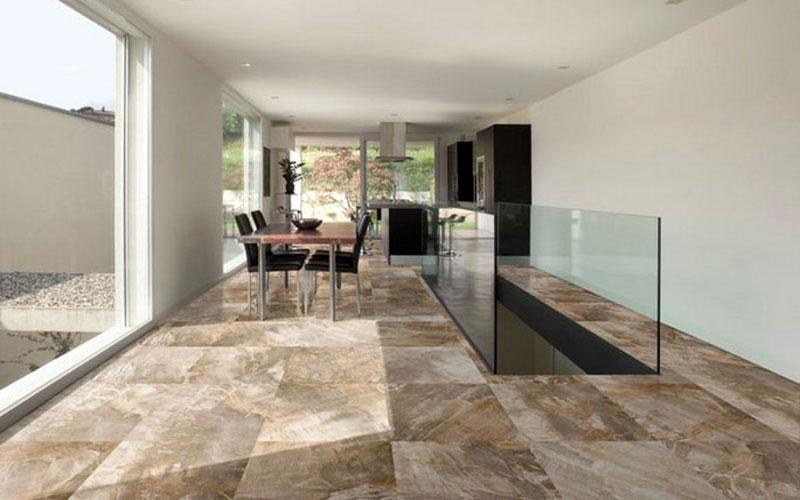 pavimento pietra fossile