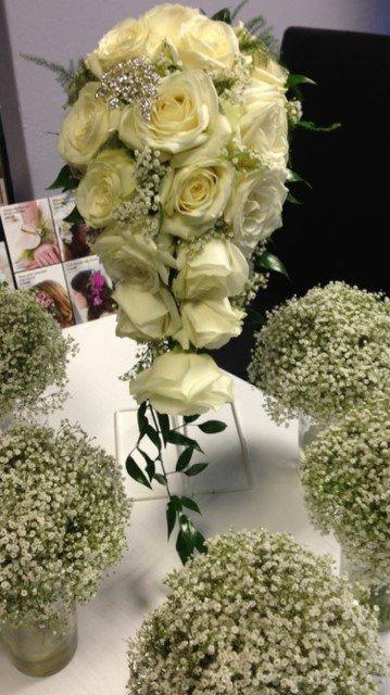 bespoke table flowers