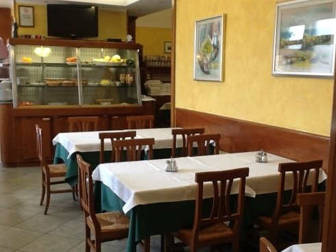 Interno Ristorante Pizzeria Ideal