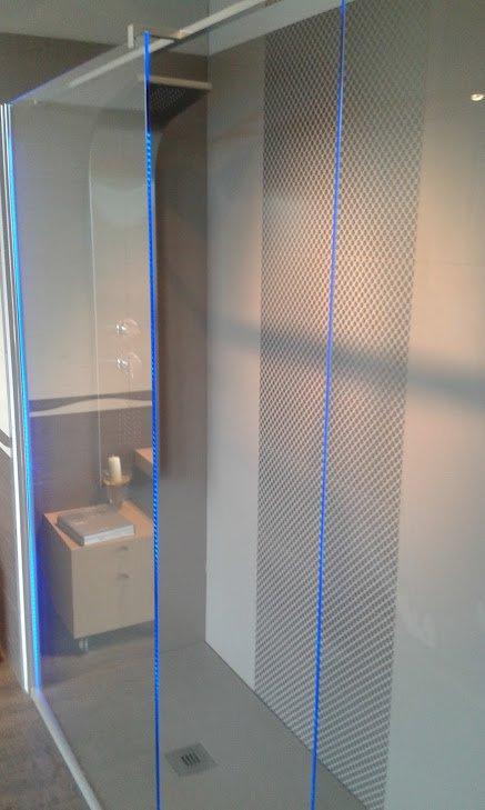 box doccia blu