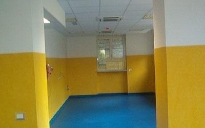 pavimentazione ospedaliera