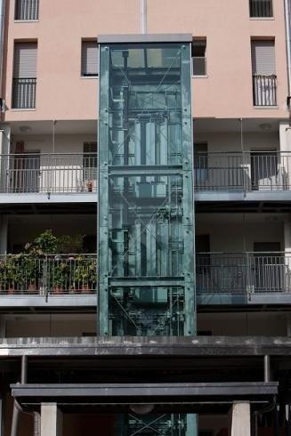 Installazione ascensori esterni