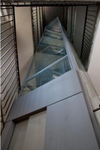Installazione ascensore a vetri