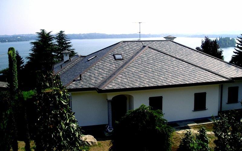 copertura abitazione lago di pusiano