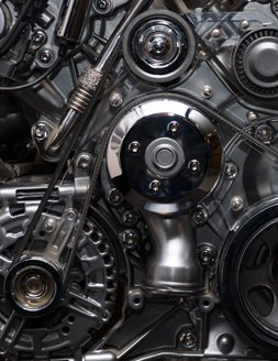 spare engine of a vehicle