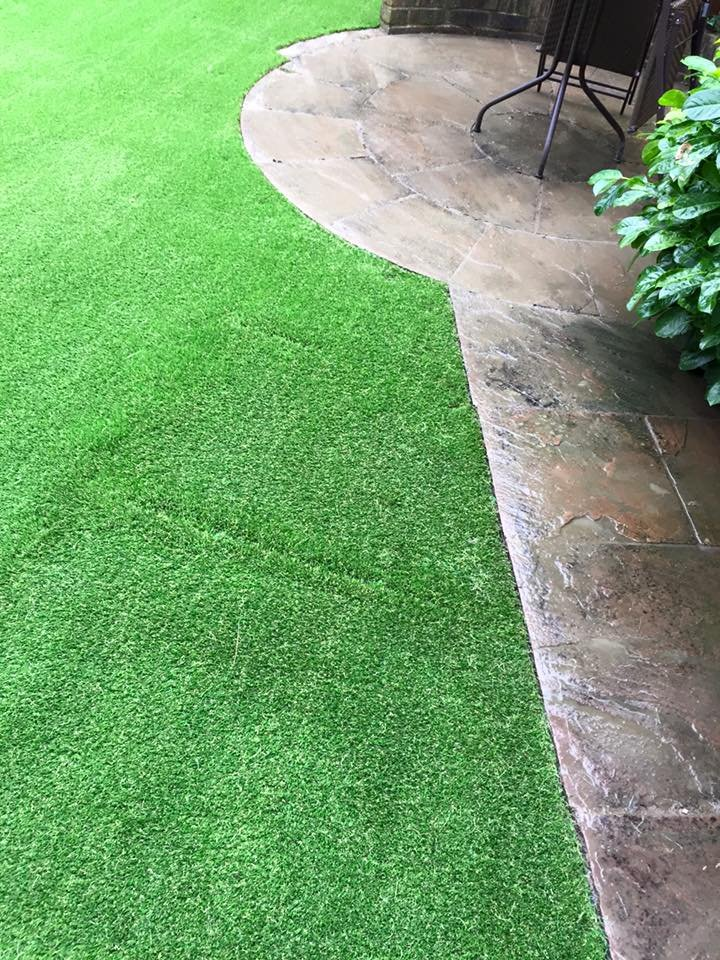 grass trimming
