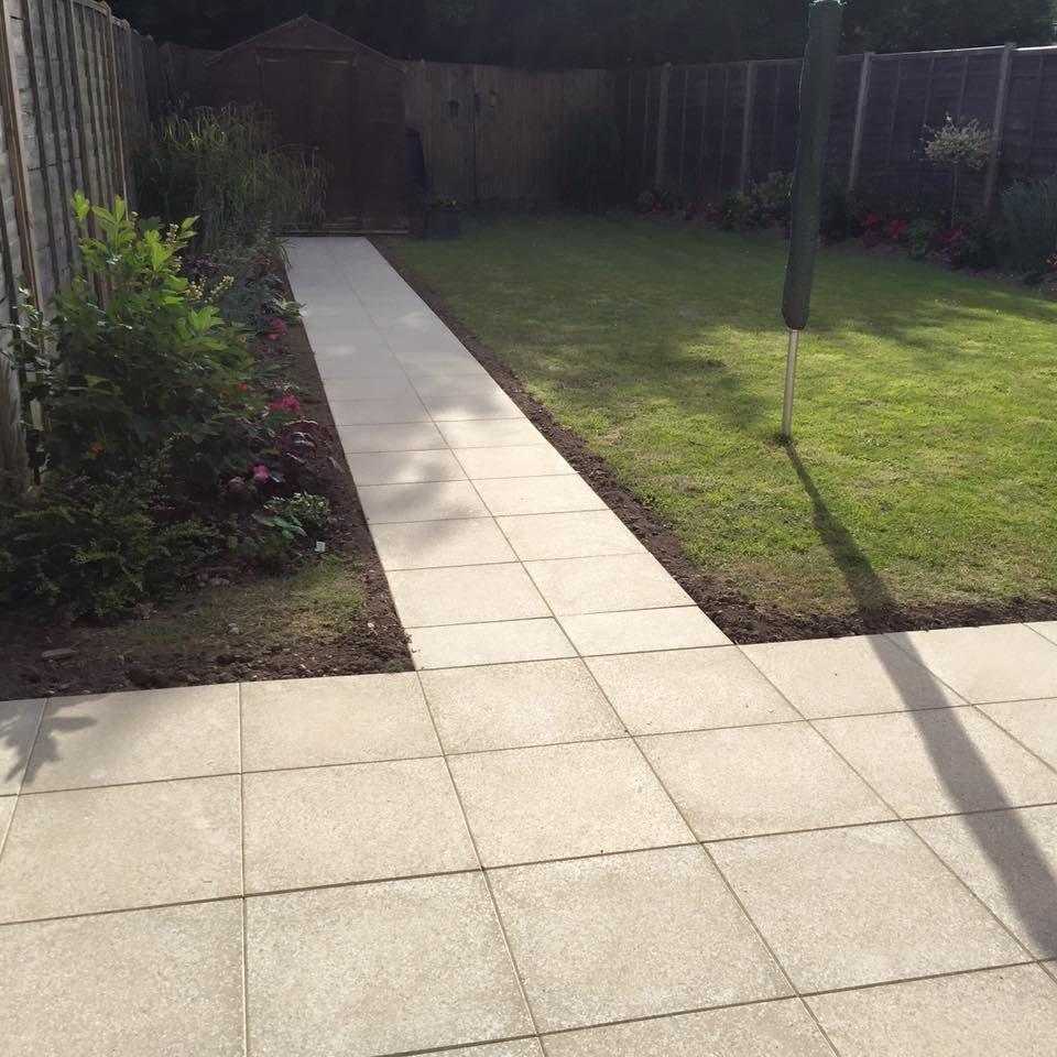 garden pavings