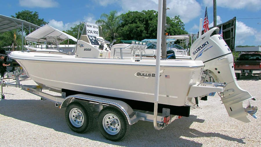 New 2016 Bulls Bay 2000 Bay Boat with new 115hp Suzuki O/B