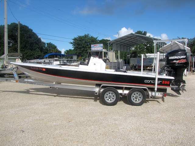2014 20' Concept 200 Pocket Hull Flats Boat
