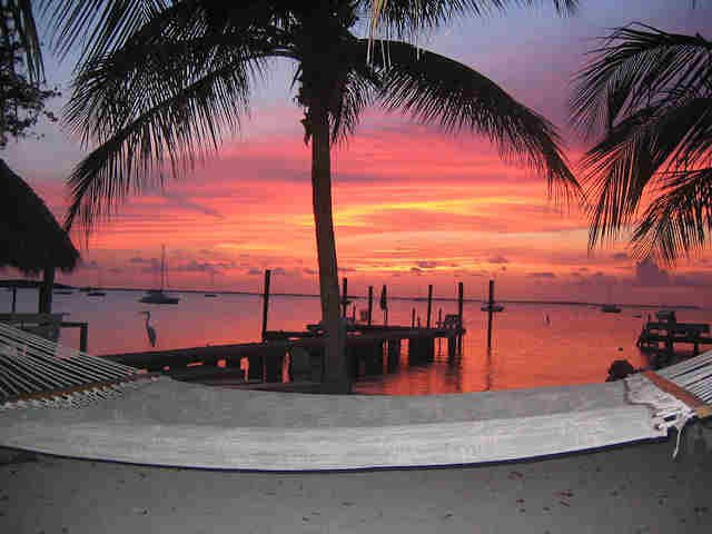Sunset in Key Largo, FL