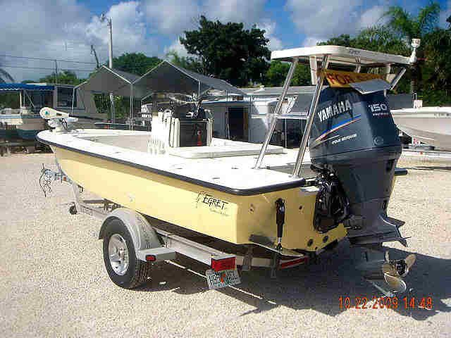 18 Egret Flats Boat