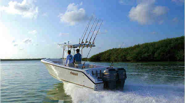 Headed to fishing grounds in Key Largo, FL