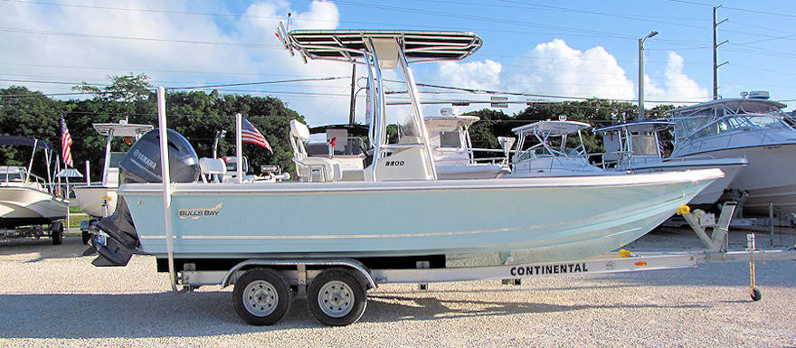 New 2016 Bulls Bay 2200 Bay Boat w/Carolina Blue Hull