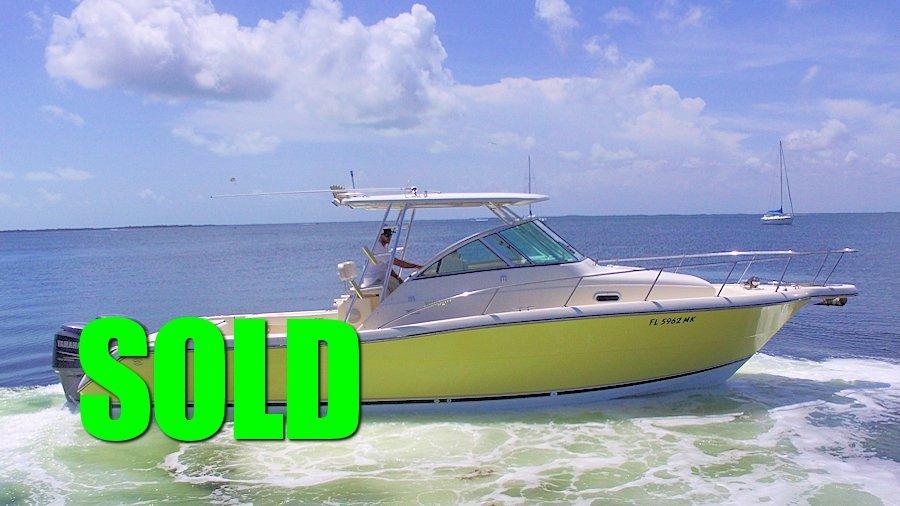 SOLD - 2002 30' Pursuit 3070 Offshore Walkaround