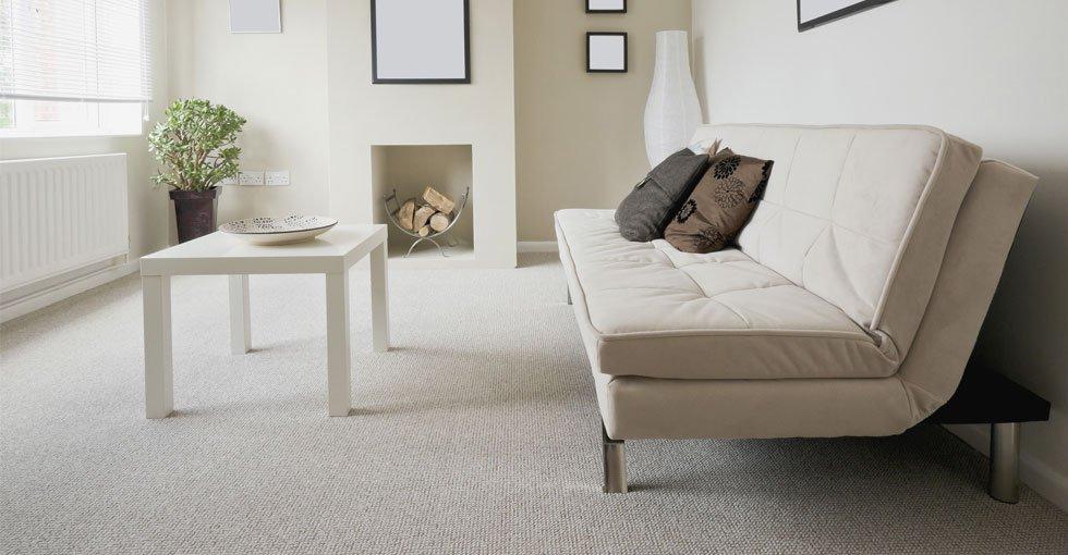 White seating furniture